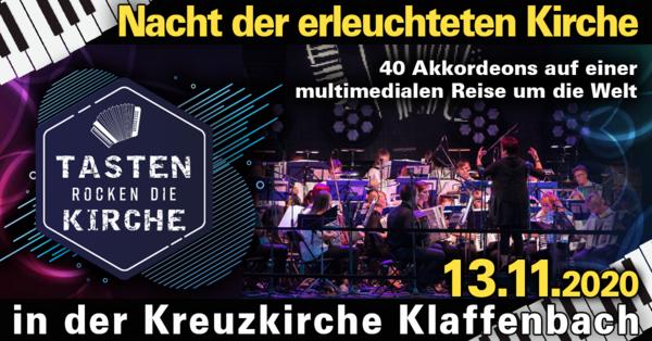 Nacht der erleuchteten Kirche - Kreuzkirche Klaffenbach - Harmonikaspatzen live in concert
