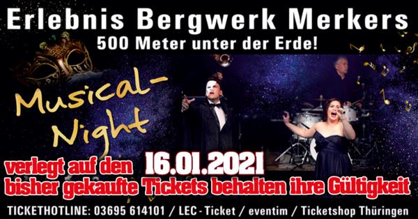 Musical Night Erlebnis Bergwerk Merkers