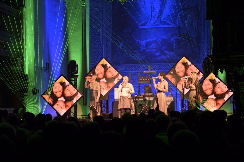 """Konzert mit den """"medlz"""" in der Stadtkirche Eibenstock"""