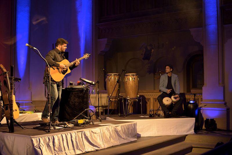 Nacht der erleuchteten Kirche Eibenstock 2015