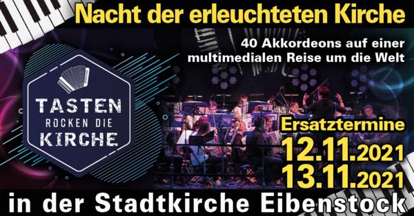Nacht der erleuchteten Kirche // Harmonikaspatzen in der Stadtkirche Eibenstock