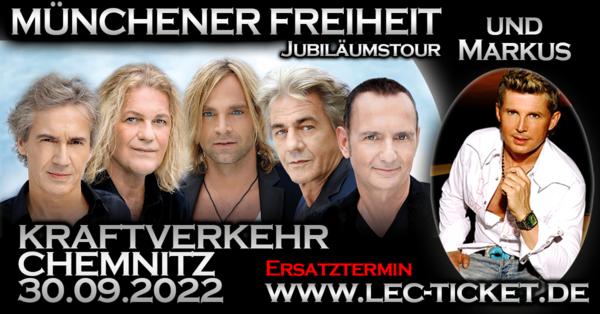 Münchener Freiheit und Markus live im Kraftverkehr in Chemnitz