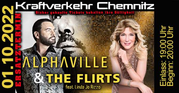 ALPHAVILLE & The Flirts feat. Linda Jo Rizzo