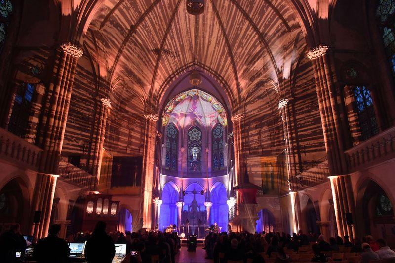 Nacht der erleuchteten Kirche, Peterskirche Leipzig mit Purple Schulz