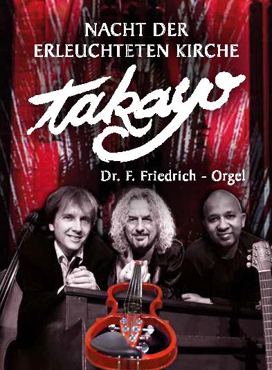 Takayo & Dr. F. Friedrich // Nacht der erleuchteten Kirche